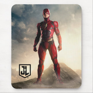 Justice League | The Flash On Battlefield Mouse Pad