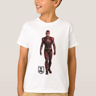 Justice League | The Flash On Battlefield T-Shirt