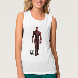 Justice League | The Flash On Battlefield Tank Top