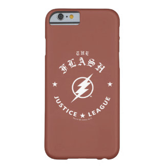 Justice League | The Flash Retro Lightning Emblem Barely There iPhone 6 Case