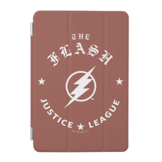 Justice League   The Flash Retro Lightning Emblem iPad Mini Cover
