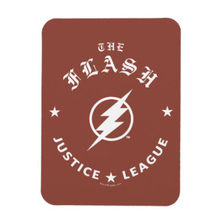 Justice League | The Flash Retro Lightning Emblem Magnet