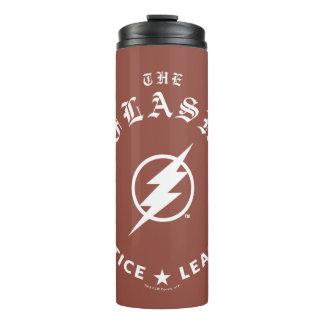 Justice League | The Flash Retro Lightning Emblem Thermal Tumbler