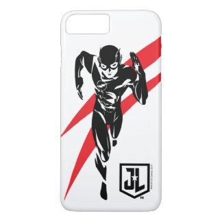 Justice League | The Flash Running Noir Pop Art iPhone 8 Plus/7 Plus Case