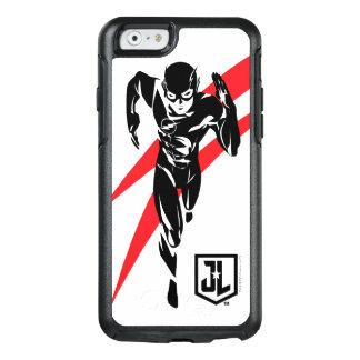 Justice League   The Flash Running Noir Pop Art OtterBox iPhone 6/6s Case