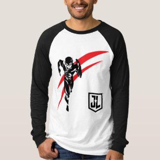 Justice League | The Flash Running Noir Pop Art T-Shirt