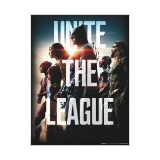 Justice League | Unite The League Canvas Print