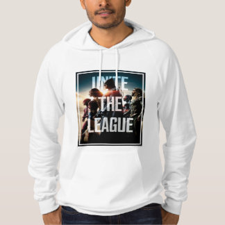 Justice League   Unite The League Hoodie