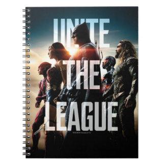 Justice League | Unite The League Spiral Notebook