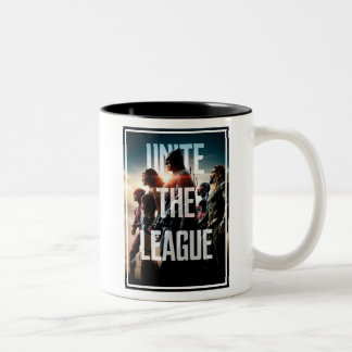 Justice League | Unite The League Two-Tone Coffee Mug