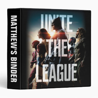 Justice League | Unite The League Vinyl Binders