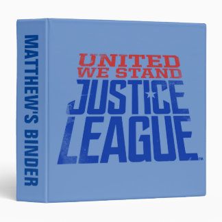 Justice League | United We Stand Graphic 3 Ring Binders