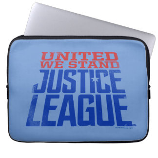 Justice League   United We Stand Graphic Laptop Sleeve