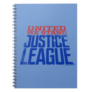 Justice League | United We Stand Graphic Spiral Notebook