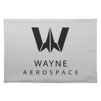 Justice League | Wayne Aerospace Logo Placemat