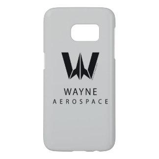 Justice League   Wayne Aerospace Logo Samsung Galaxy S7 Case