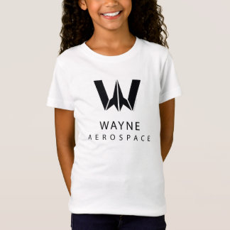 Justice League | Wayne Aerospace Logo T-Shirt