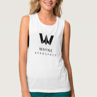 Justice League | Wayne Aerospace Logo Tank Top