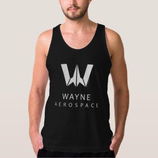 Justice League | Wayne Aerospace Logo Tank Top
