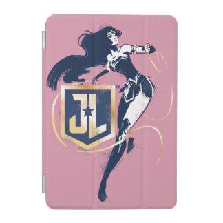 Justice League | Wonder Woman & JL Icon Pop Art iPad Mini Cover
