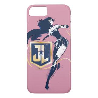 Justice League | Wonder Woman & JL Icon Pop Art iPhone 8/7 Case