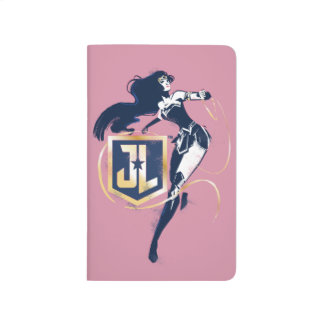 Justice League | Wonder Woman & JL Icon Pop Art Journal