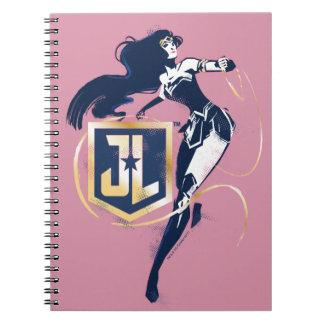 Justice League | Wonder Woman & JL Icon Pop Art Notebook