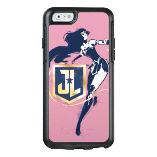 Justice League | Wonder Woman & JL Icon Pop Art OtterBox iPhone 6/6s Case