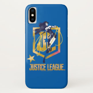 Justice League | Wonder Woman JL Logo Pop Art Case-Mate iPhone Case