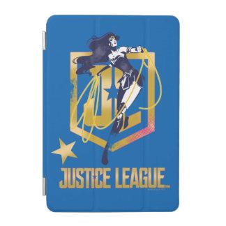 Justice League | Wonder Woman JL Logo Pop Art iPad Mini Cover