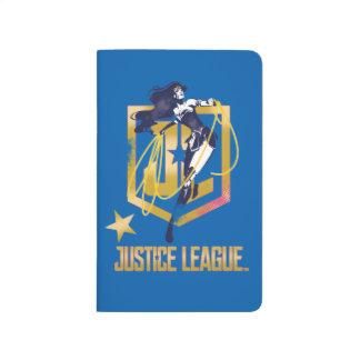 Justice League | Wonder Woman JL Logo Pop Art Journal