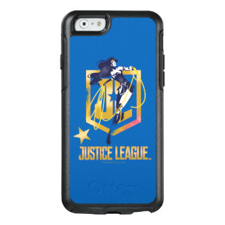 Justice League | Wonder Woman JL Logo Pop Art OtterBox iPhone 6/6s Case