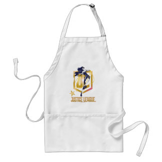Justice League | Wonder Woman JL Logo Pop Art Standard Apron