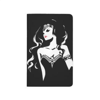 Justice League | Wonder Woman Noir Pop Art Journal