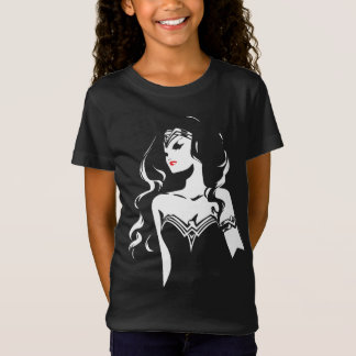Justice League | Wonder Woman Noir Pop Art T-Shirt