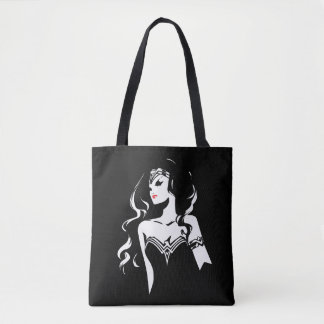 Justice League | Wonder Woman Noir Pop Art Tote Bag