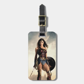 Justice League | Wonder Woman On Battlefield Luggage Tag