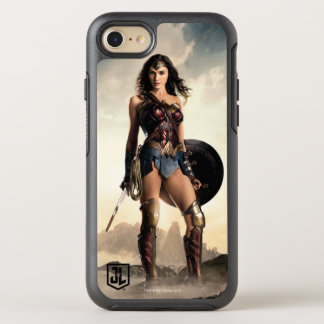 Justice League | Wonder Woman On Battlefield OtterBox Symmetry iPhone 8/7 Case