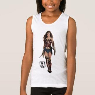 Justice League | Wonder Woman On Battlefield Tank Top