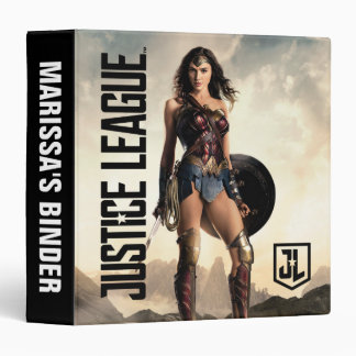 Justice League | Wonder Woman On Battlefield Vinyl Binders