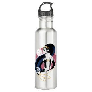 Justice League | Wonder Woman Profile Pop Art 710 Ml Water Bottle