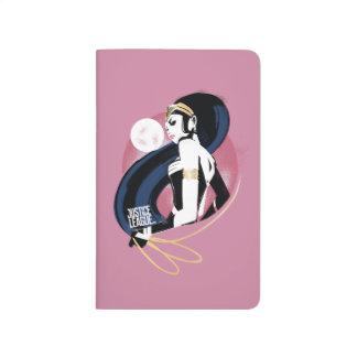 Justice League | Wonder Woman Profile Pop Art Journal