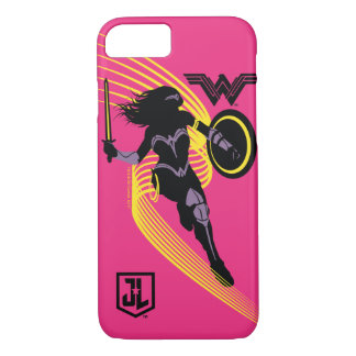 Justice League | Wonder Woman Silhouette Icon Case-Mate iPhone Case