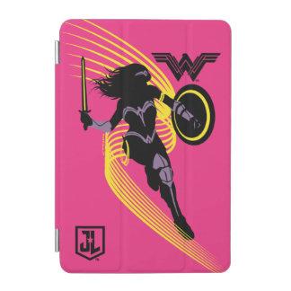 Justice League | Wonder Woman Silhouette Icon iPad Mini Cover