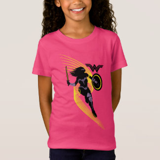 Justice League | Wonder Woman Silhouette Icon T-Shirt