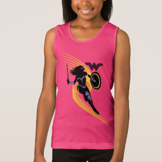 Justice League | Wonder Woman Silhouette Icon Tank Top