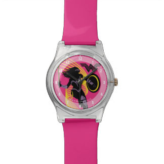 Justice League   Wonder Woman Silhouette Icon Watch