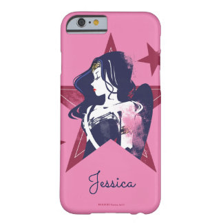Justice League | Wonder Woman & Stars Pop Art Barely There iPhone 6 Case