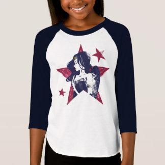 Justice League | Wonder Woman & Stars Pop Art T-Shirt
