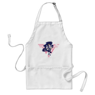 Justice League | Wonder Woman & Symbol Pop Art Standard Apron